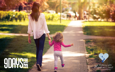 9 Days for Life – Walking with Moms in Need