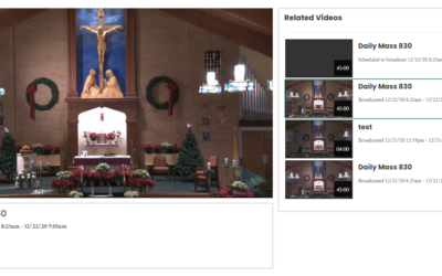 All Masses are Now Online… LIVE!!