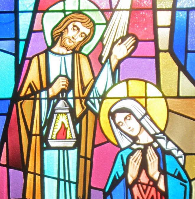 The Windows of our Church – The Birth of Jesus