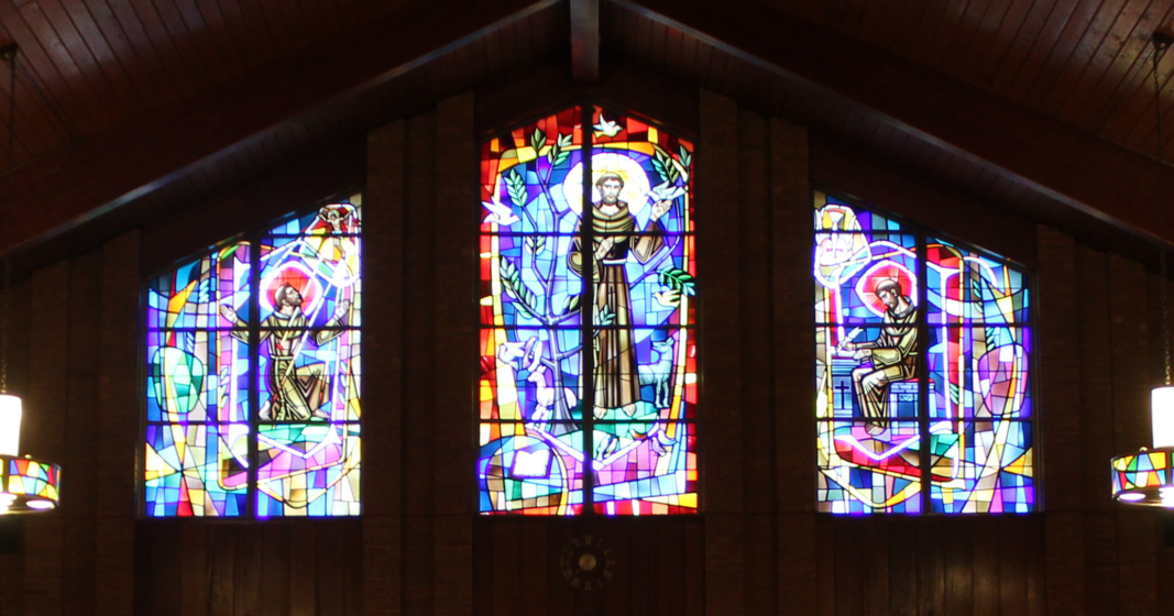 The Windows of our Church: The Life of St Francis of Assisi – Left Panel Story