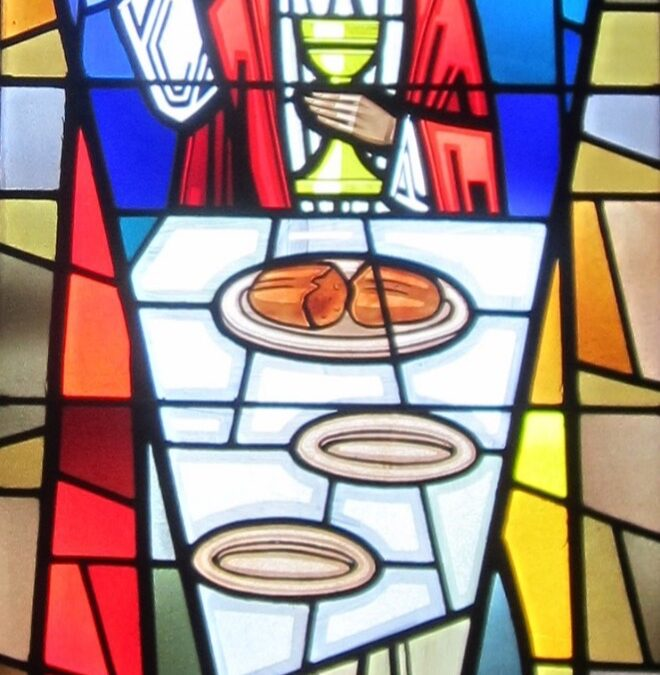 The Windows of our Church – The Lord's Supper