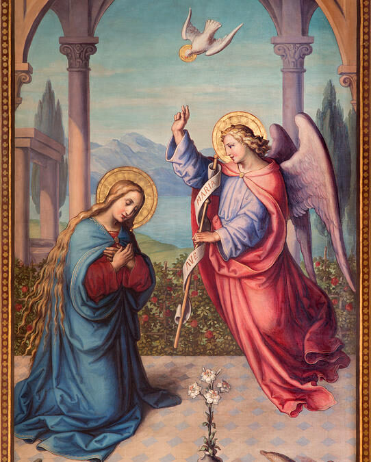 He Made His Dwelling Among Us – The Annunciation and the Gospel of Life