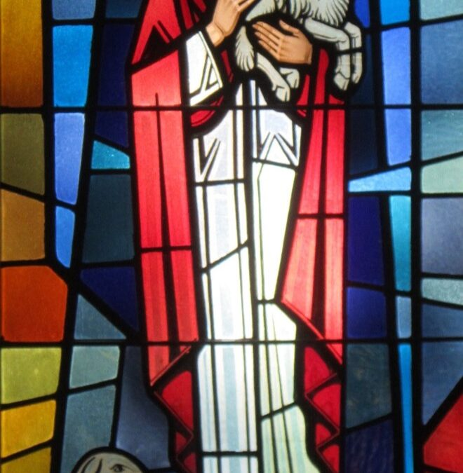 The Windows of our Church – The Good Shepherd