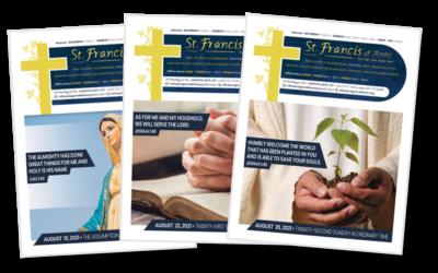 Pastors Desk – Month of August 2021